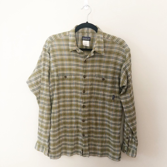 Patagonia Other - Patagonia Men's Plaid Button Down Shirt